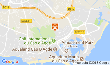 Carte Cap d'Agde Appartement 113359