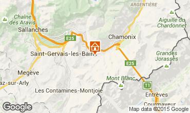 Carte Chamonix Mont-Blanc Chalet 27606