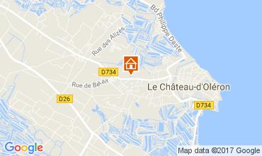 Carte Le Château d'Oléron Maison 107575