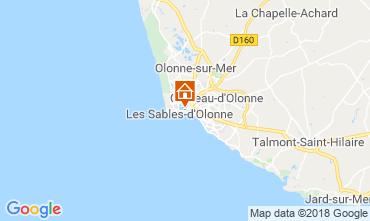 Carte Les  Sables d'Olonne Maison 117483