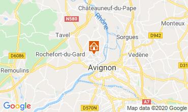 Carte Avignon Villa 109138