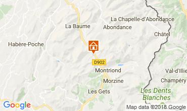 Carte Morzine Chalet 101488