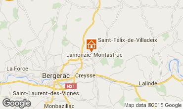 Carte Bergerac Gite 93509