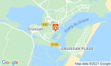 Carte Gruissan Studio 6289