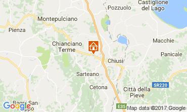 Carte Chianciano Terme Villa 111227
