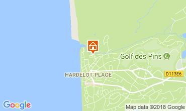 Carte Hardelot Villa 114204