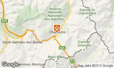Carte Chamonix Mont-Blanc Appartement 92446