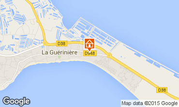 Carte Noirmoutier en l'Île Villa 7202