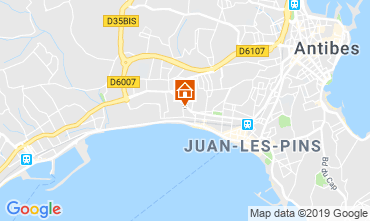 Carte Juan les Pins Appartement 86704
