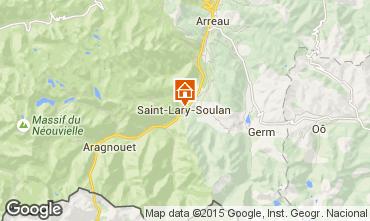 Carte Saint Lary Soulan Chalet 102169