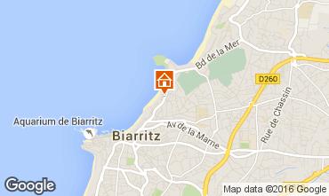 Carte Biarritz Appartement 102443