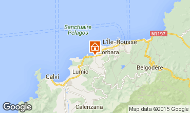 Carte Ile Rousse Appartement 87256