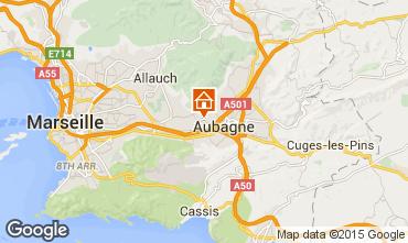 Carte Aubagne Villa 88007
