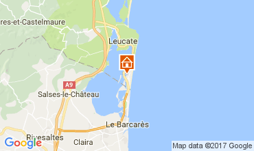 Carte Port Leucate Appartement 108993