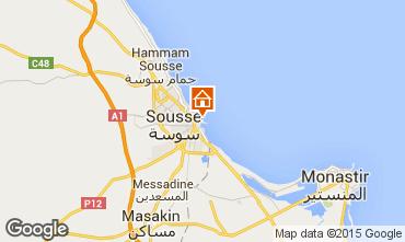 Carte Sousse Appartement 25792