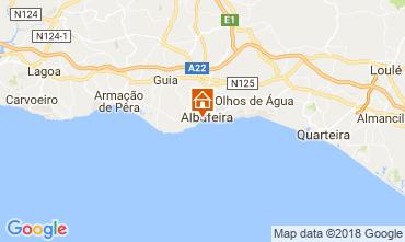 Carte Albufeira Villa 114694