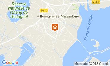 Carte Villeneuve-Les-Maguelone Appartement 43728
