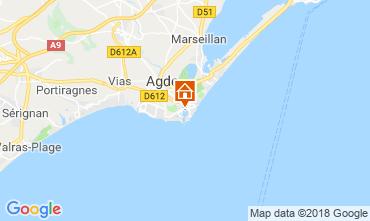 Carte Cap d'Agde Studio 117600