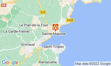 Carte Sainte Maxime Villa 15881