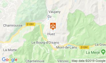 Carte Alpe d'Huez Studio 112804