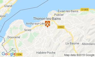 Carte Thonon Les Bains Appartement 113619