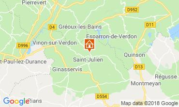 Carte Gréoux Les Bains Maison 93624