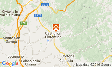 Carte Arezzo Villa 11865