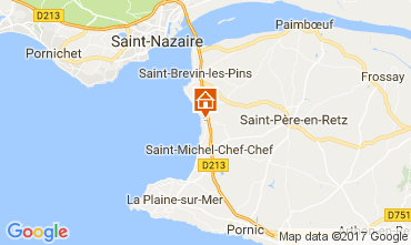 Carte Saint Brevin les Pins Mobil-home 112559