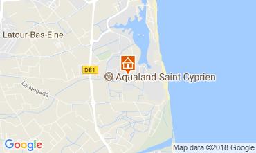 Carte Saint Cyprien Plage Appartement 114305