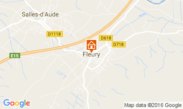 Carte Fleury d'Aude Gite 80368