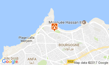 Carte Casablanca Appartement 88430