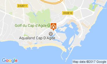 Carte Cap d'Agde Appartement 6186