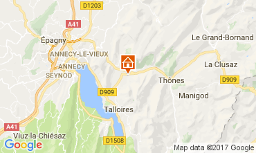 Carte Annecy Chalet 112362