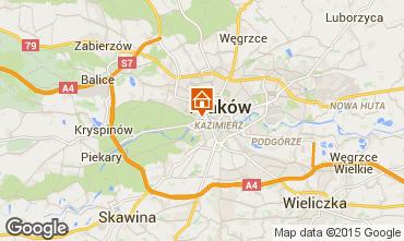 Carte Cracovie Appartement 15059