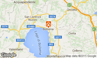 Carte Bolsena Appartement 68515