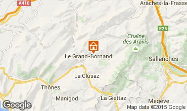 Carte Le Grand Bornand Appartement 1360
