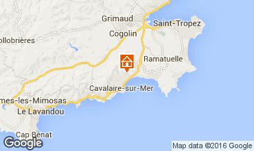 Carte Cavalaire-sur-Mer Villa 102507