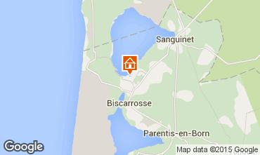 Carte Biscarrosse Mobil-home 82054