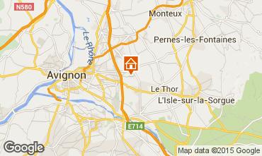 Carte Avignon Gite 83431