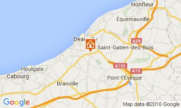 Carte Deauville Mobil-home 7630