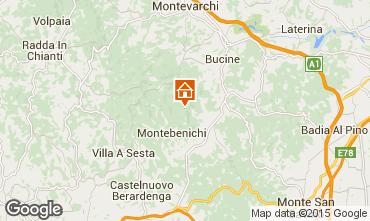 Carte Sienne Villa 75874