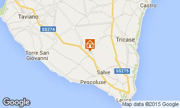 Carte Pescoluse Appartement 85022