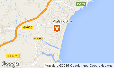 Carte Playa d'Aro Appartement 77393