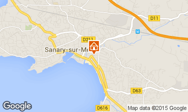 Carte Sanary Appartement 93899