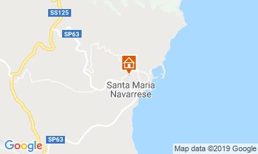 Carte Santa Maria Navarrese Villa 118243