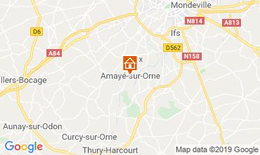 Carte Caen Gite 97863