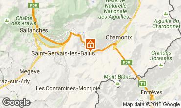 Carte Chamonix Mont-Blanc Appartement 22897