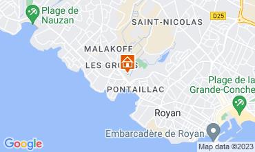 Carte Royan Appartement 6855