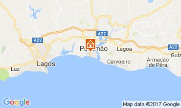 Carte Praia da Rocha Appartement 108583
