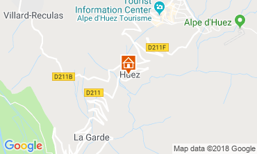 Carte Alpe d'Huez Appartement 116741